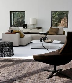 Good neutral scheme...would like to see some gray and green or steel blue added Furniture by Montis