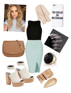"""""""Posh Day out"""" by fashion-girl-katrina on Polyvore featuring River Island, Rebecca Minkoff, MICHAEL Michael Kors, Missguided, Express and Kofta"""