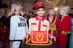 Backstage Pass: Milan Fashion Week Fall 2014 - Moschino Fall 2014