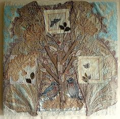 Such gorgeous work by Anne Kelly Textiles - click through to website for more beautiful textile art.