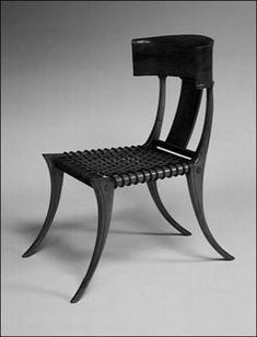 Klismos Chair by Robsjohn-Gibbings