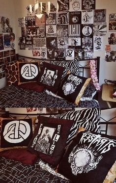 Punk bedroom, naturally.
