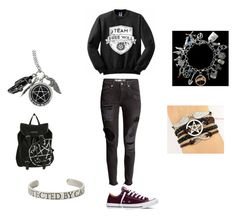 """""""Supernatural obsessed"""" by shypandas09 on Polyvore featuring Converse"""
