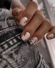 Perfect Nails, Gorgeous Nails, Stylish Nails, Trendy Nails, Cute Acrylic Nails, Cute Nails, Ongles Beiges, Gel Nagel Design, Nagel Hacks