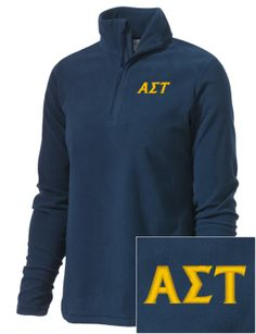 Perfect time of year for an Alpha Sigma Tau fleece!