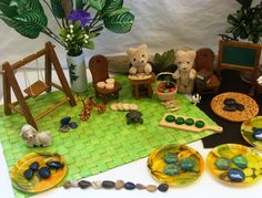 Preschool Teddy Bear Toy, Play Based Learning, Provocation, Reggio, Preschool, Montessori via Etsy