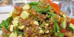 Salada de Trigo | Receitas | Ana Maria Braga