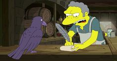 The Simpsons Parody Game of Thrones in Season 29 Premiere Clip -- Fox's long-running animated hit The Simpsons pays homage to Game of Thrones in a new clip from tonight's Season 29 premiere. -- http://tvweb.com/the-simpsons-season-29-game-of-thrones-video/