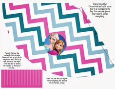Free Disney Frozen Printable Party Decorations