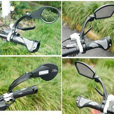 Cycling Bike Bicycle Handlebar Rear View Mirror MTB Road Bike Folding Rearview