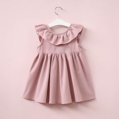 Hurave Summer 2017 New Casual Style Fashion Fly Sleeve Girls Bow Dress Girl Clothing For Children Cute Dresses - Kid Shop Global - Kids & Baby Shop Online - baby & kids clothing, toys for baby & kid Baby Outfits, Little Girl Dresses, Kids Outfits, Dress Girl, Toddler Outfits, Picnic Outfits, Girl Tutu, Dress Red, Low Back Dresses
