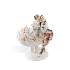 """Tanzpaar """"Russisches Ballett"""", H 27 cm"""