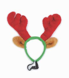 I've just found Doggy Things Furry Reindeer Antlers. These furry reindeer antlers from Doggy Things are great for Christmas fun.  . £4.25