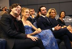 The Cast of Versailles promoting season 1 in the United States