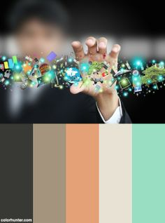 Man Holding Object Color Scheme
