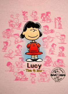 Peanuts 60th Anniversary Then and Now Shirt - Lucy