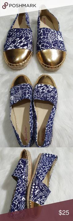 Lilly Pulitzer for Target Fish Print Espadrilles Excellent condition shoes with a cute fish print. Size 10 1/2 shoes by Lilly Pulitzer's target line.   Offers are always considered! 😉 Lilly Pulitzer for Target Shoes Espadrilles