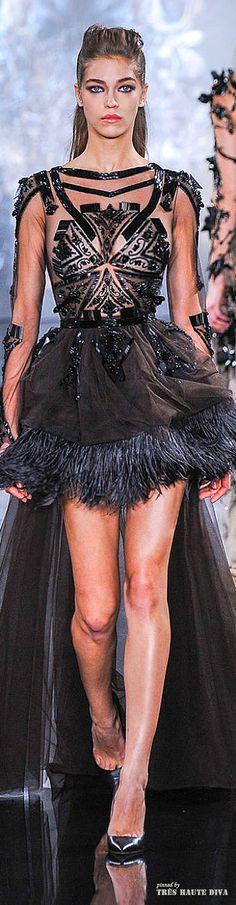 #Paris Fashion Week #Valentin #Yudashkin Fall/Winter 2014 RTW