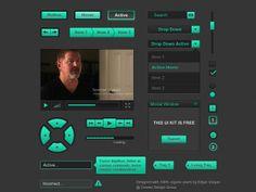 Free UI Kit by Edgar Vargas