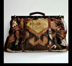 Kilim carpet bag.Turkey