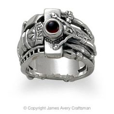A replica of the wedding ring Katie von Bora gave her husband Martin Luther.  by James Avery