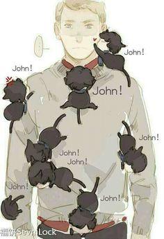 Johnlock <3. ⌒.⌒