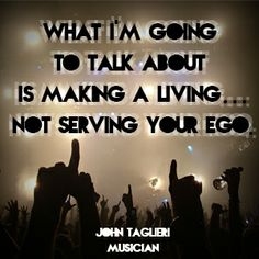 Advice from John Taglieri // To read the full article, visit: http://cyberprmusic.com/2013/12/27/12-days-of-monetization-how-to-make-money-from-live-shows-john-taglieri-day-3/