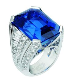 Cartier saphire ring