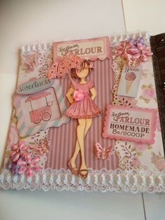 First page in my prima doll book designs by creativewayz
