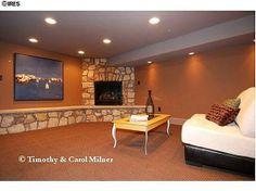 Basement windows murders and basements on pinterest for Ramsey fireplace