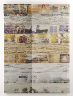 Margo Wolowiec glitch weaving