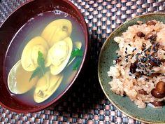 娘の初節句なので˘⌣˘♡お赤飯炊いて蛤食べました☆ - 3件のもぐもぐ - 蛤の潮汁 by coppechan