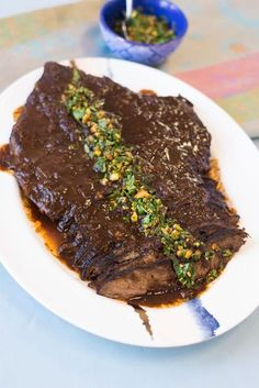 Israeli Inspired Brisket with all the flavors of the Mediterranean Kosher Recipes, Lamb Recipes, Meat Recipes, Cooking Recipes, Kosher Meals, Israeli Food, Israeli Recipes, Best Brisket Recipe, Pork Brisket