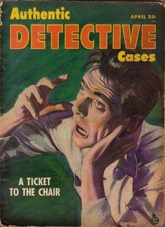 Authentic Detective Cases - April, 1946