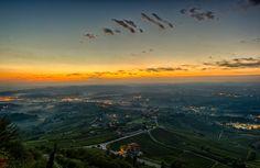New day La Morra, Italy