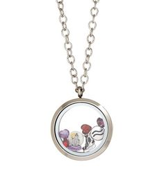 This Stainless Steel Aquarius Locket With Crystals From SWAROVSKI is perfect! #zulilyfinds