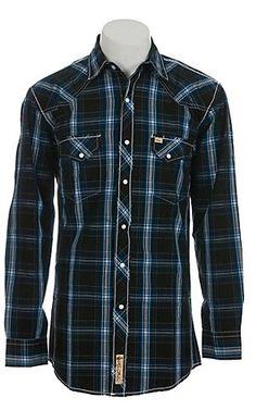 Larry Mahan Men's L/S Western Snap Shirt