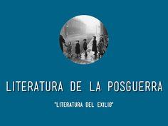 """Presentación con la aplicación """"Haiku"""" sobre las características y autores más importantes de la posguerra lietararia."""