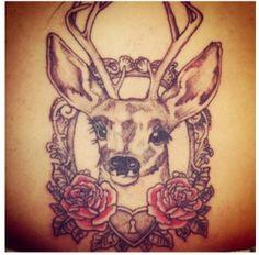 My deer tattoo