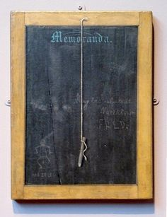 The Slate: Memoranda - John Haberle - de Young Museum Black Painting, The Slate, Museums, Inspiration, Art, Still Life, Biblical Inspiration, Art Background, Kunst