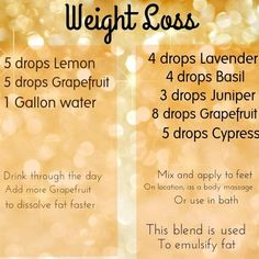 Essential Oils Weight Loss #weightloss