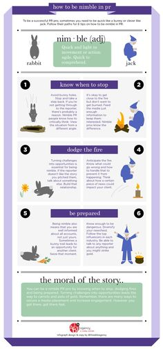 How to Be Nimble in PR ~ @TheAbbiAgency #Infographic