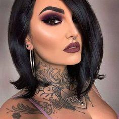 Glam Makeup, Dramatic Eye Makeup, Makeup Eye Looks, Smokey Eye Makeup, Cute Makeup, Gorgeous Makeup, Pretty Makeup, Eyeshadow Makeup, Dramatic Eyes
