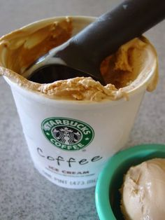Discovered by delete account. Find images and videos about lalalalove starbucks! on We Heart It - the app to get lost in what you love. Coffee Ice Cream, Starbucks Coffee, Most Favorite, Creme, Sweet Tooth, Desserts, Food, Halloween, Heart
