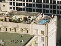 Le Pavillon Hotel Rooftop