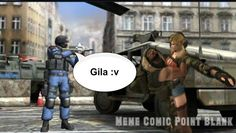 Meme Comic Point Blank - MCPB