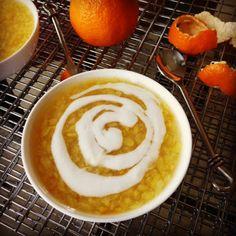 Chè Táo Xọn Vỏ Quýt (Sweet Mung Bean with Tangerine Peel)