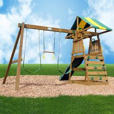 Creative Playthings Sudbury Swing Set