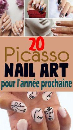 """Adieu les vernis classiques, exit la monochromie ! Venue de pays asiatiques, la mode du nail-art a été répandue en l'Europe après avoir conquis les États-Unis. Vernis de formes géométriques, vernis texturés, motifs, jeux de couleur et agrémentation de bijoux, réalisation de trompe-l'oeil… Le nail-art s'inspire des tendances et de la mode. Sur Instagram ou Facebook, les """"nailistas"""" présentent leurs créations et visent à faire le buzz. Picasso Nails, Nail Art, Inspirer, Motifs, Creations, Europe, Facebook, Instagram, Style"""