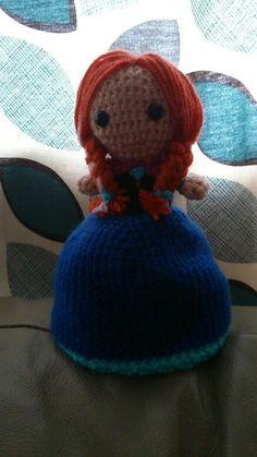 Topsy turvy elsa /anna doll